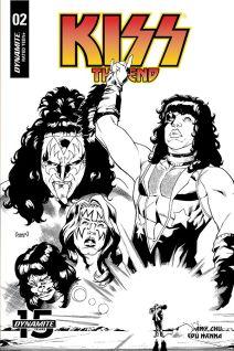 Variant Cover by Ruairi Coleman (Black & White)