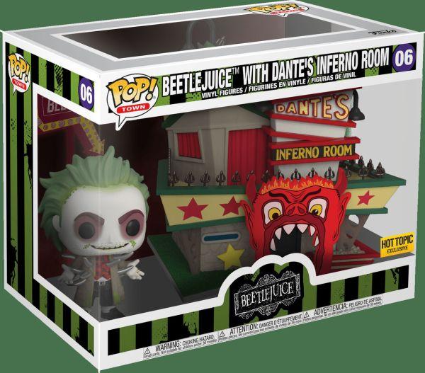 Funko Pop! Town #06 Beetlejuice With Dante's Inferno Room