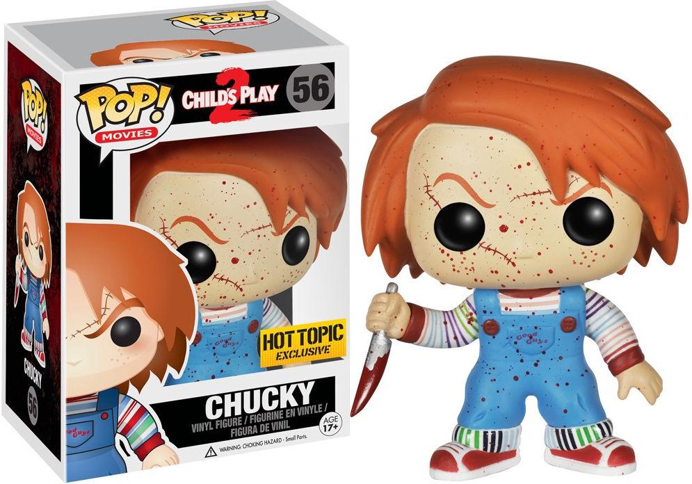 Funko Pop! Movies #56 Child's Play 2 Chucky [Bloody]