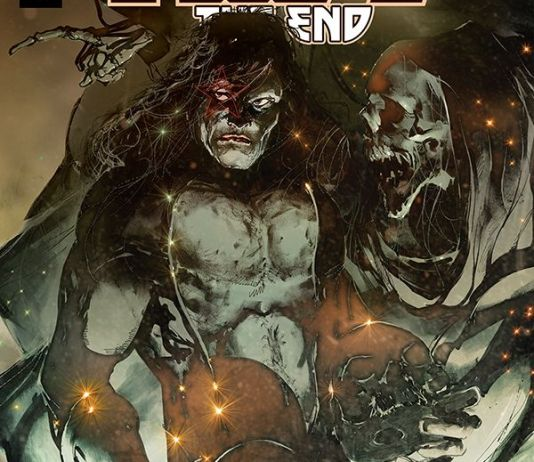 Dynamite Entertainment's KISS: The End issue #3 cover A by Stuart Sayger