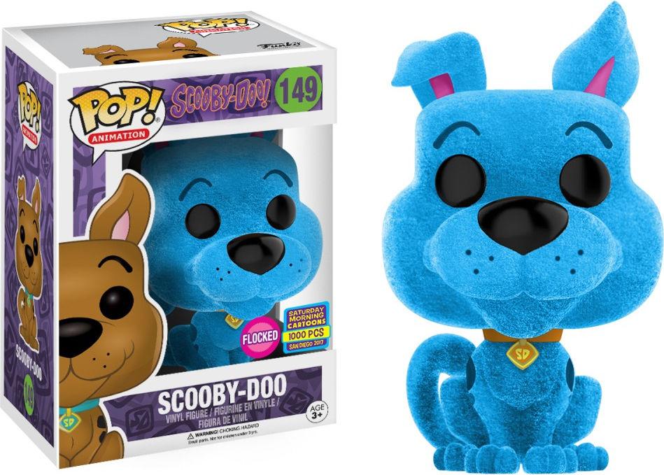 Funko Pop! Animation #149 Scooby-Doo Scooby-Doo [Flocked, Blue]
