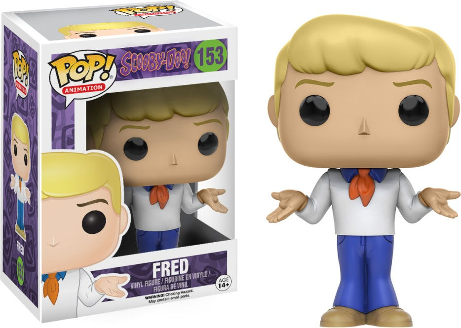Funko Pop! Animation #153 Scooby-Doo Fred