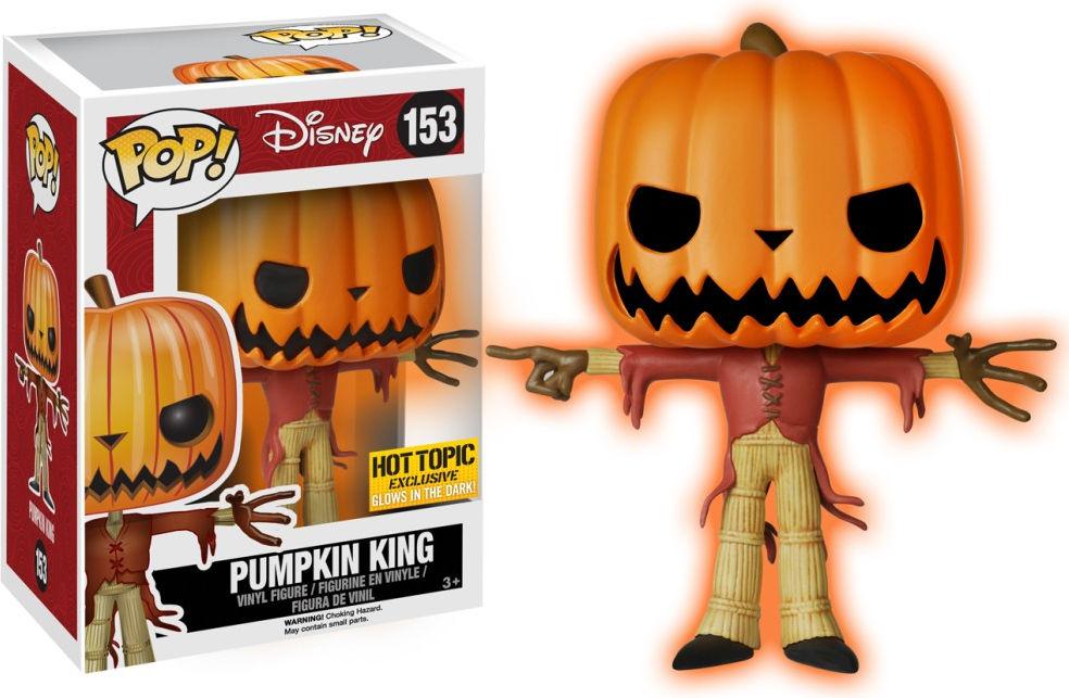 Funko Pop! Disney #153 The Nightmare Before Christmas Pumpkin King [Glow-in-the-Dark]