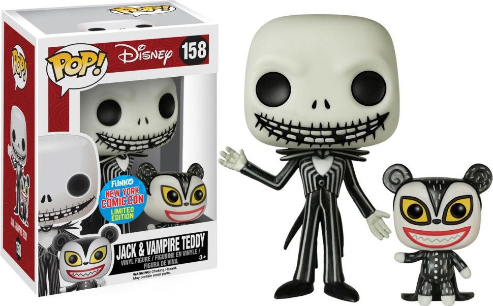 Funko Pop! Disney #158 The Nightmare Before Christmas Jack & Vampire Teddy