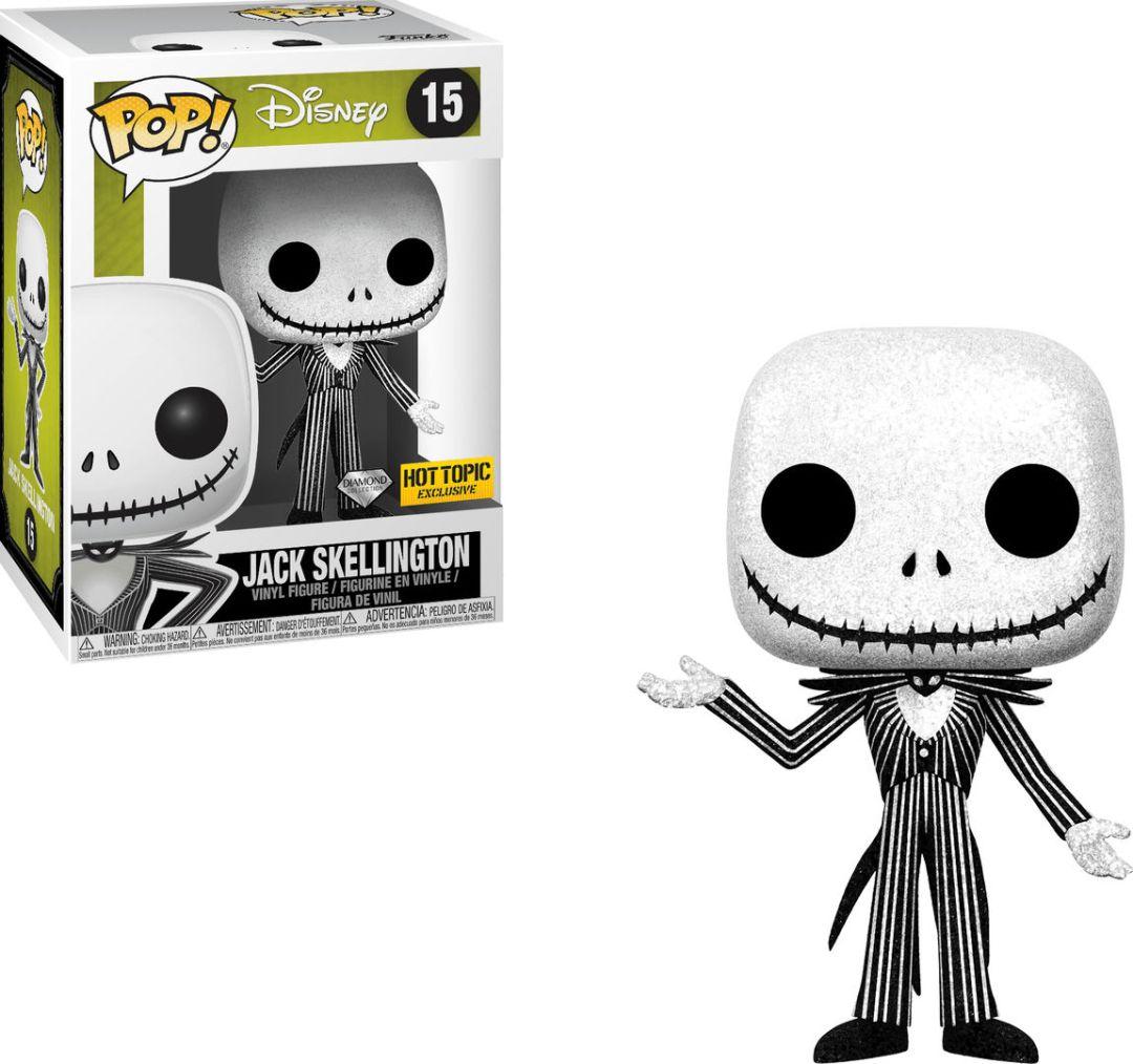 Funko Pop! Disney #15 The Nightmare Before Christmas Jack Skellington [Diamond]