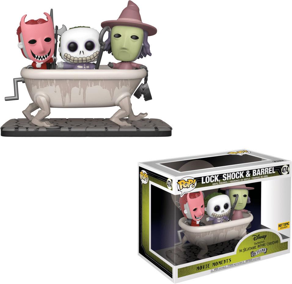 Funko Pop! Disney #474 The Nightmare Before Christmas Lock, Shock & Barrel