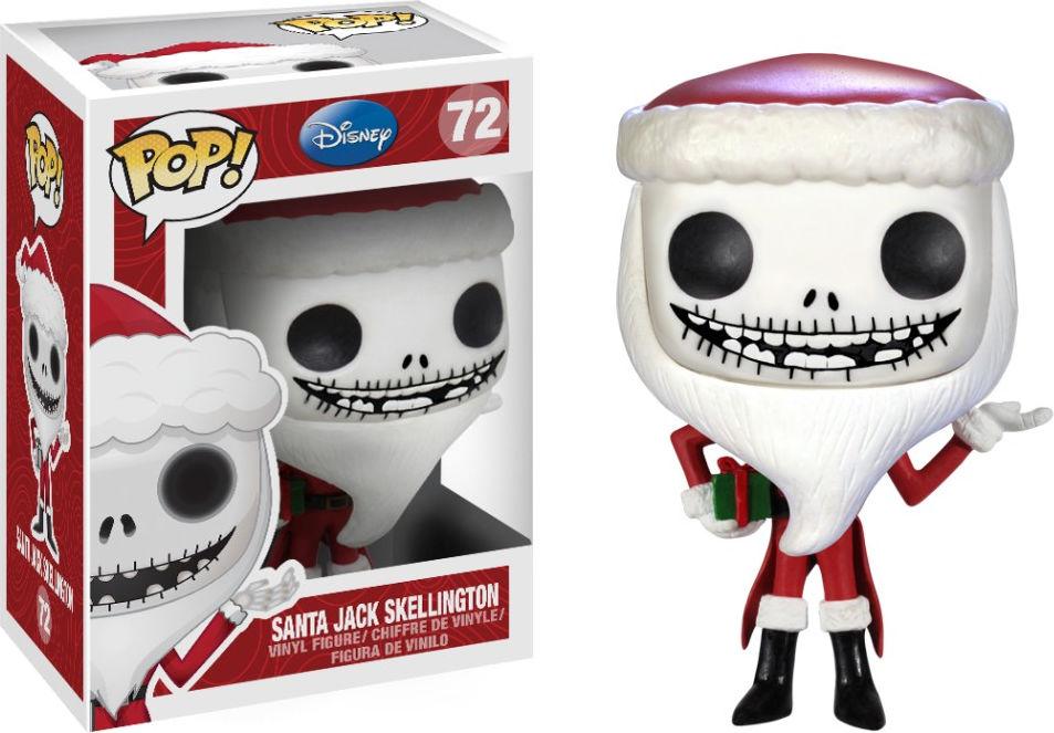 Funko Pop! Disney #72 The Nightmare Before Christmas Santa Jack Skellington