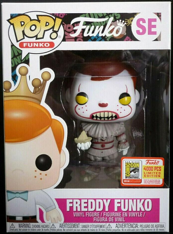 Funko Pop! SE Freddy Funko as Pennywise