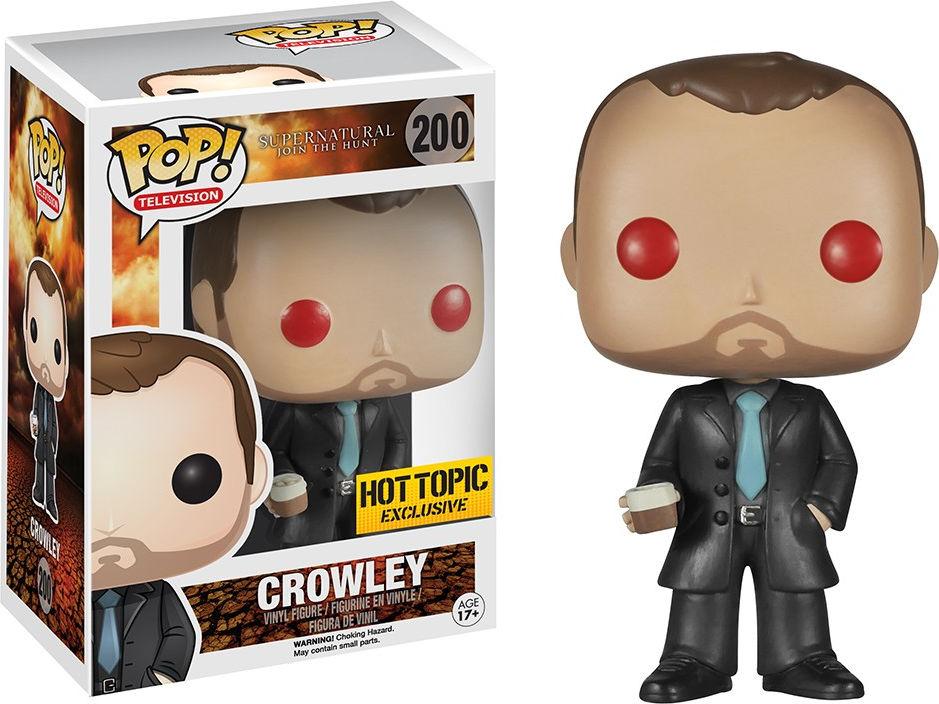 Funko Pop! Television #200 Supernatural Crowley [Red Eyes]