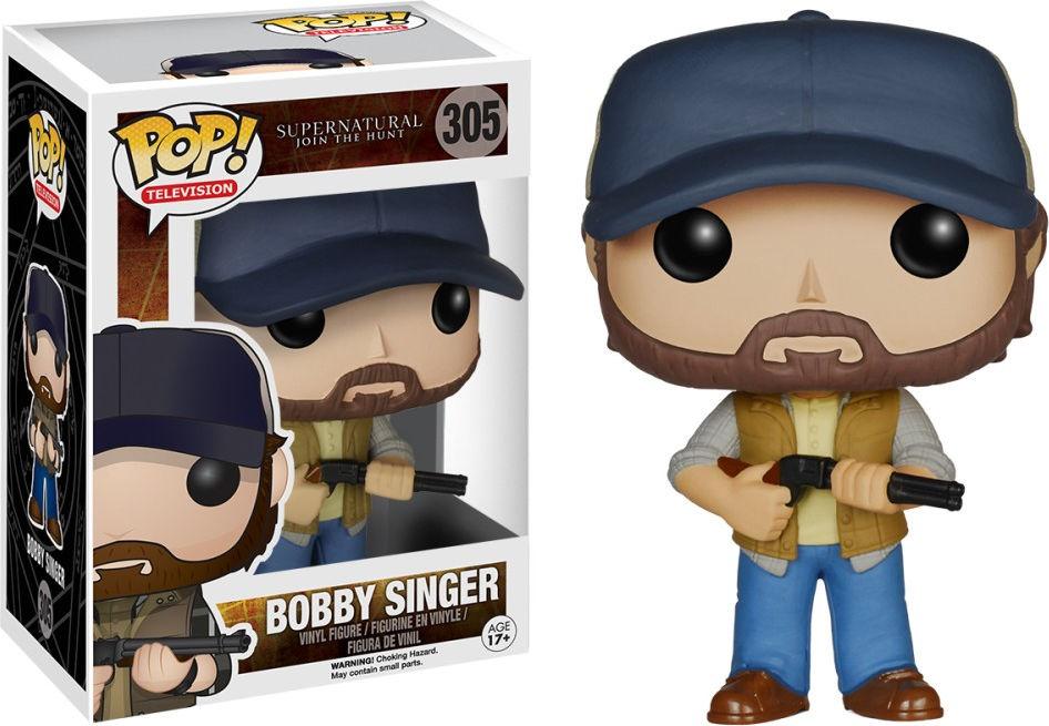 Funko Pop! Television #305 Supernatural Bobby Singer
