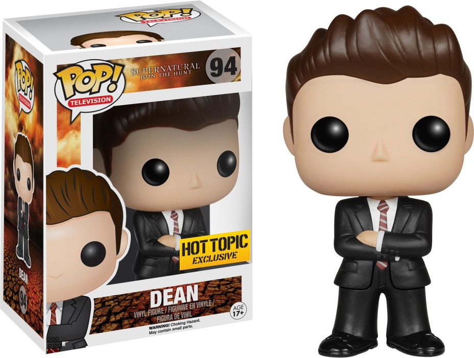 Funko Pop! Television #94 Supernatural Dean [Undercover FBI]