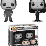 Funko Pop! Television The Addam's Family Gomez & Morticia Addams 2-Pack [Black & White]
