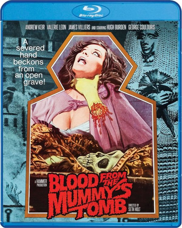 Scream Factory Blood from the Mummy's Tomb Blu-ray Cover