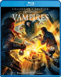Scream Factory John Carpenter's Vampires Collector's Edition Blu-ray Cover by Devon Whitehead