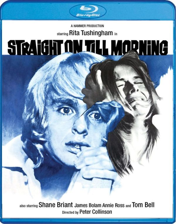 Scream Factory Straight on Till Morning Blu-ray Cover
