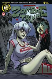 Action Lab Danger Zone's Zombie Tramp issue #62 cover C by Richard Garcia.