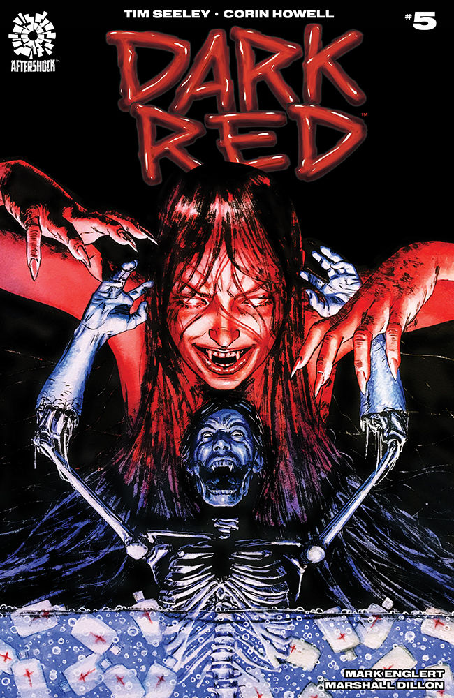 AfterShock Comics' Dark Red issue #5 cover by Aaron Campbell.