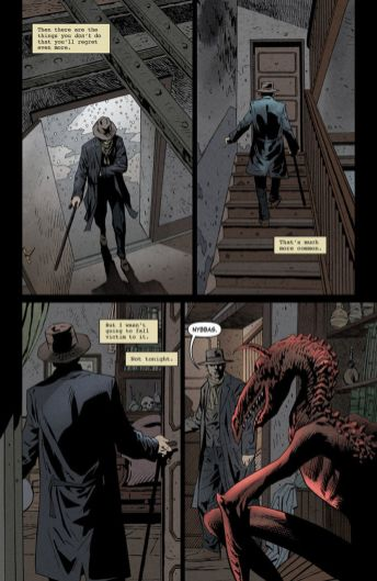 American Gothic's Monster World: The Golden Age issue #1 page 2.