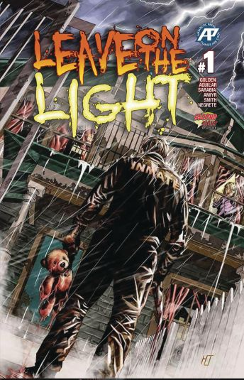 Anarctic Press' Leave On the Light Issue #1 Cover by Helmut Racho & Oscar Pinto
