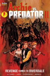 Archie Comics' Archie vs Predator II issue #1 cover A by Robert Hack.