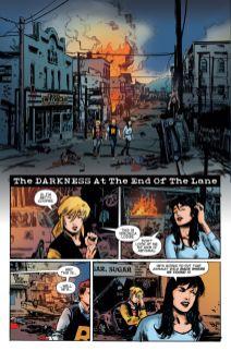 Archie Comics' Archie vs Predator II issue #1 page 1.