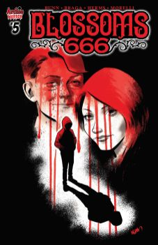Archie Comics' Blossoms 666 issue #5 cover B by Adam Gorham.