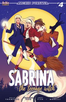 Archie Comics' Sabrina the Teenage Witch Issue #4 Cover C by Audrey Mok