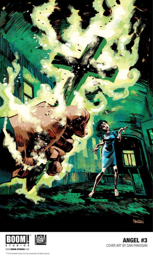 Boom! Studios' Angel Issue #3 Main Cover by Dan Panosian
