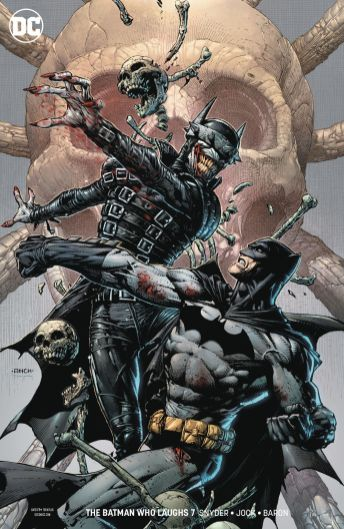 DC Comics' The Batman Who Laughs Issue #7 Cover B by David Finch