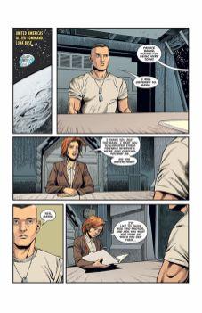 Dark Horse Comics' Aliens: Rescue issue #1 page 1.