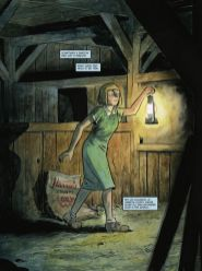 Dark Horse Comics' Harrow County library edition vol. 3 hardcover page 1.