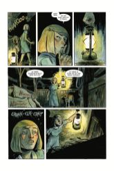 Dark Horse Comics' Harrow County library edition vol. 3 hardcover page 3.