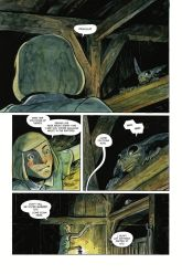 Dark Horse Comics' Harrow County library edition vol. 3 hardcover page 4.