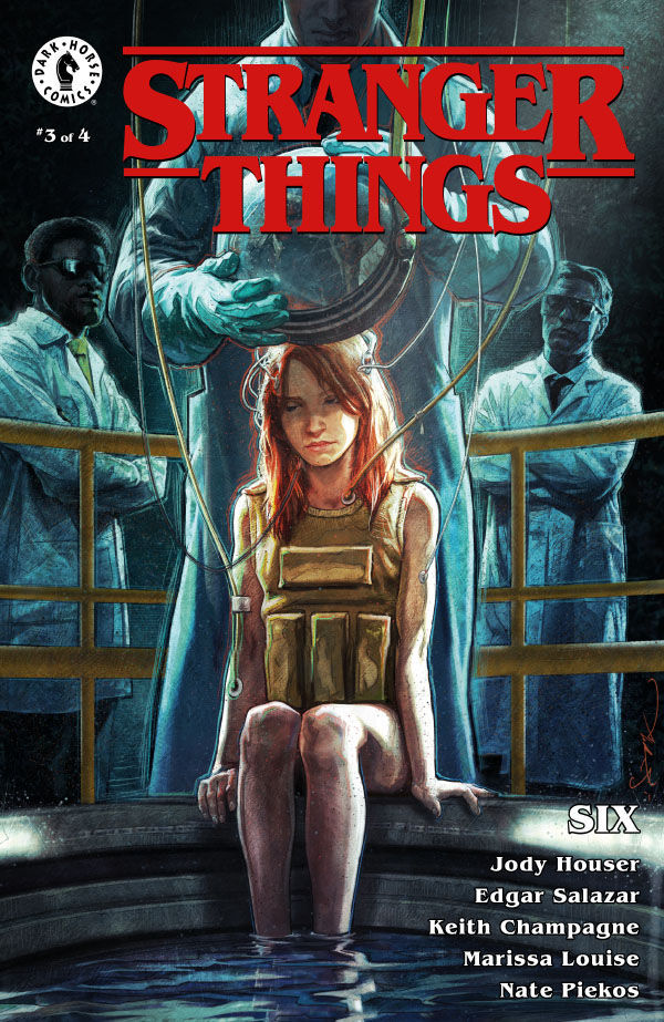 Dark Horse Comics' Stranger Things: Six Issue #3 Cover A by Aleksi Briclot