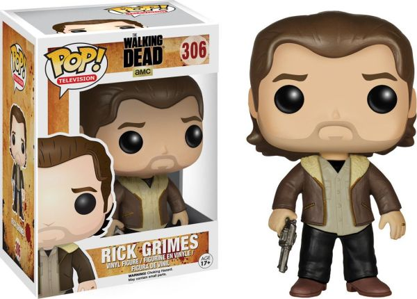 Funko Pop! Television #306 The Walking Dead Rick Grimes