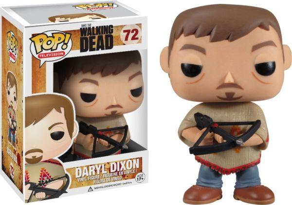 Funko Pop! Television #72 The Walking Dead Daryl Dixon [Poncho]