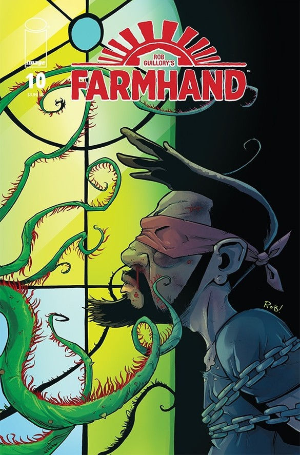 Image Comics' Farmhand issue #10 cover by Rob Guillory.
