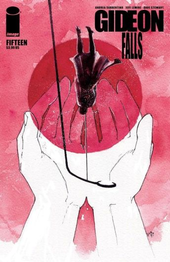 Image Comics' Gideon Falls issue #15 cover B by Ariela Kristantina.