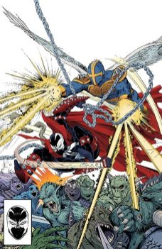 Image Comics' Spawn Issue #299 Virgin Cover by Todd McFarlane