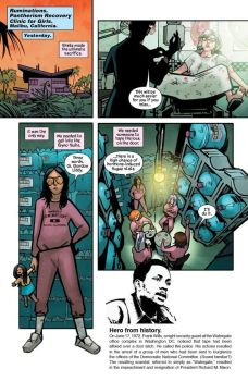 Image Comics Man-Eaters issue #10 preview page 4.