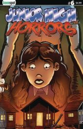 Keenspot Entertainment's Junior High Horrors Issue #6 Cover D by Rob Potchak