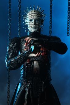 NECA Toys' Hellraiser ultimate Pinhead 7-inch action figure (front).