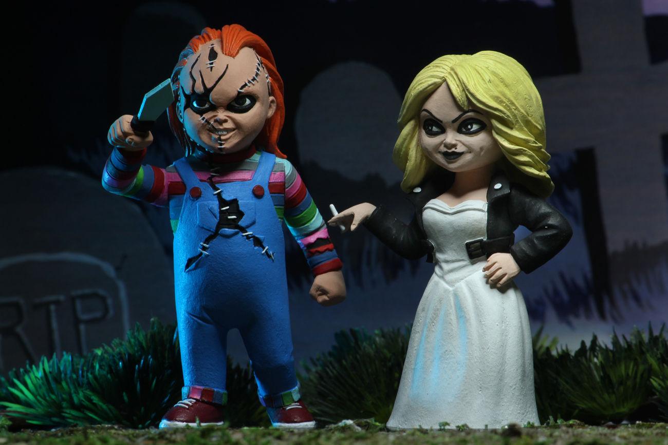 NECA Toys Toony Terrors Bride of Chucky Action Figures   Grave Decay