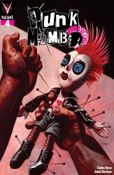 Valiant Entertainment's Punk Mambo Issue #4 Cover A by Dan Brereton