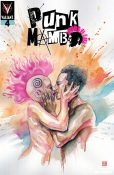 Valiant Entertainment's Punk Mambo Issue #4 Cover B by David Mack