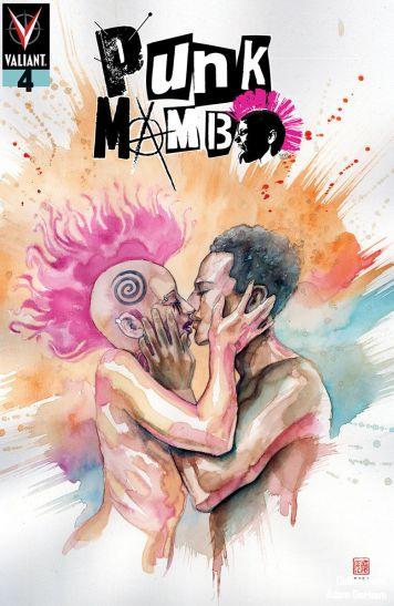 Valiant Entertainment's Punk Mambo Issue #4 Cover B by David Mack