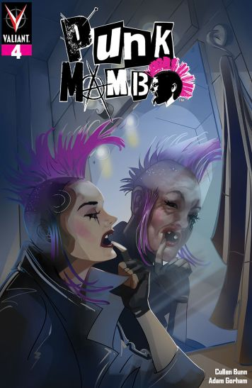 Valiant Entertainment's Punk Mambo Issue #4 Cover C by Chris Delara