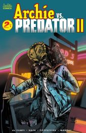 Archie Comics' Archie Vs Predator Issue #2 Cover A by Robert Hack