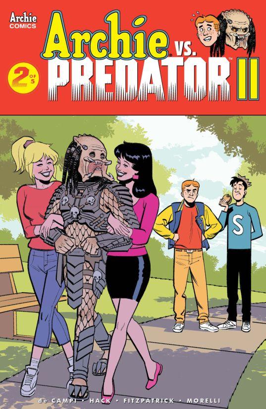 Archie Comics' Archie Vs Predator Issue #2 Cover E by Greg Smallwood