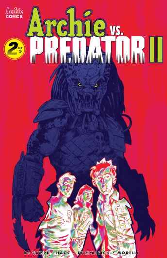 Archie Comics' Archie Vs Predator Issue #2 Cover F by Michael Walsh